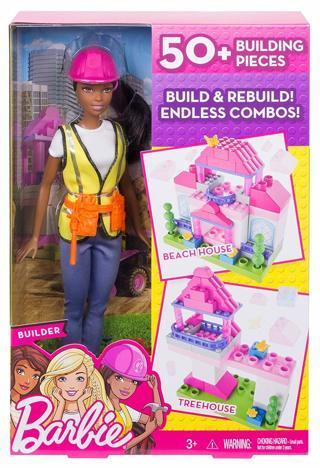 NEW Barbie Career Architect Builder Doll & Playset FREE SHIPPING