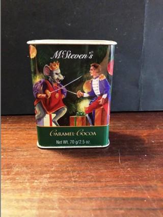 Caramel Cocoa Tin Container