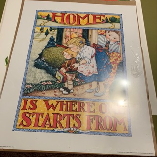 TS Eliot poster vintage never unsealed