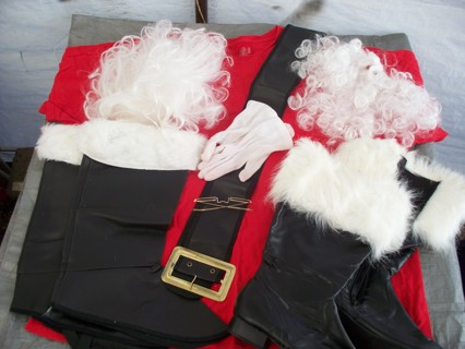 CHRISTMAS SANTA CLAUS SUIT HOLIDAY