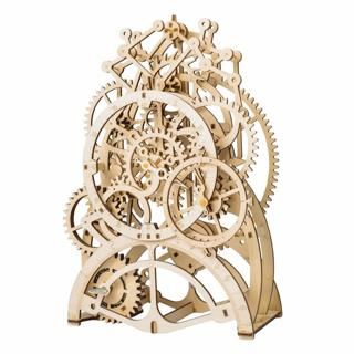 ROKR 3D Pendulum Clock Self-Assembly Puzzle Model-Wooden Building Sets - Craft Set Educational...