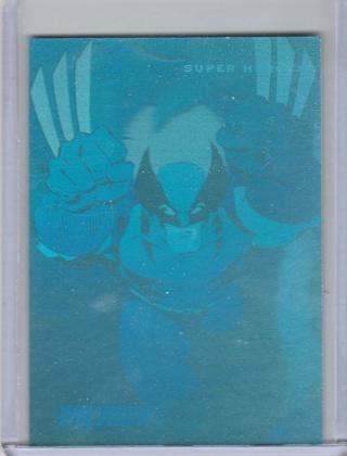 Marvel Universe H-3 Hologram Wolverine VF-NM condition