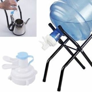 5 Gallon Manual Water Bottle Jug Hand Pump Dispenser Camping Drinking Spigot
