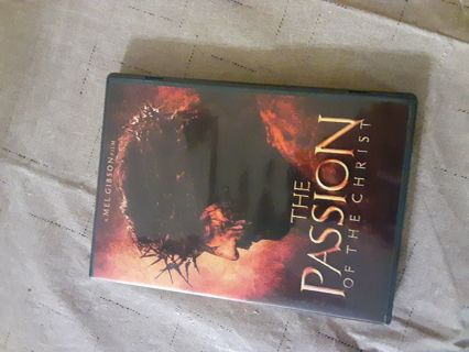 The passion of Christ DVD