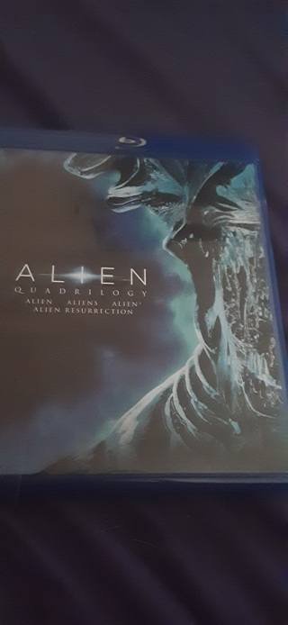 Alien Quadrilogy blu-ray