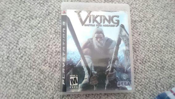 PS3 Vikings: Battle For Asgard Video game.