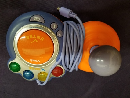 Used VSmile Game System Vtech Replacement Controller reversible left hand/right hand
