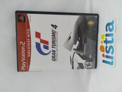 Gran Turismo 4 PlayStation2 Game