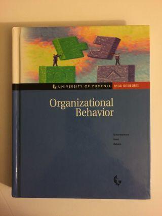 Organizational Behavior Richard N. Osborn, James G. Hunt John R. Schermer SP ED FREE SHIPPING