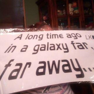 Starwars decal! Free Shipping