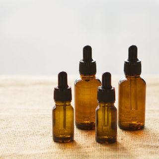 [GIN FOR FREE SHIPPING] 3PCs New 5-10ml Amber Glass Eye Dropper Bottles