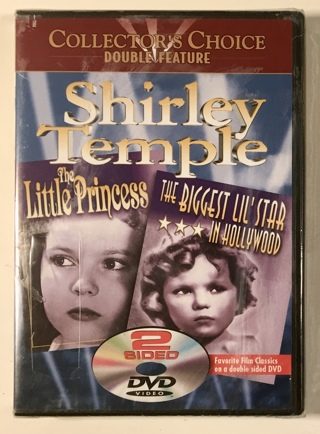 Shirley Temple - The Little Princess / Biggest Lil' Star in Hollywood DVD Movie - Brand New Sealed