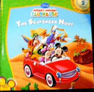 Mickey Mouse Clubhouse Book, the Scavenger Hunt