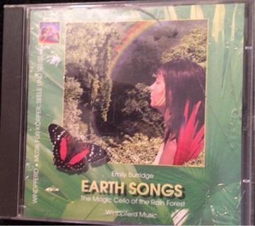 "Emily Burridge ""Earth Songs, The Magic Cello of the Rain Forest"" - CD - Like New!! Ships FREE!!"""