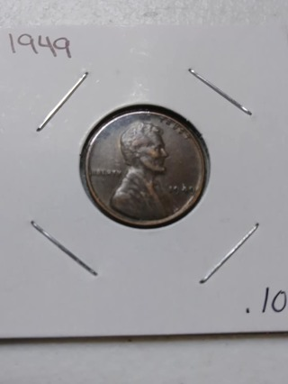 1949 Lincoln Wheat Penny! 28