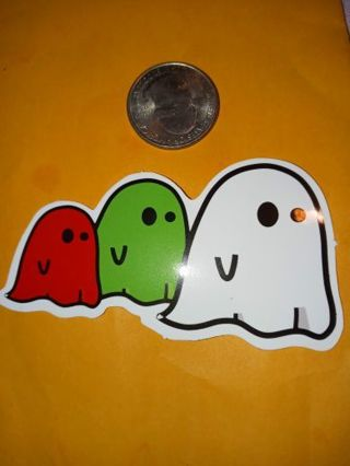 Cute nice vinyl sticker no refunds regular mail only Very nice quality!
