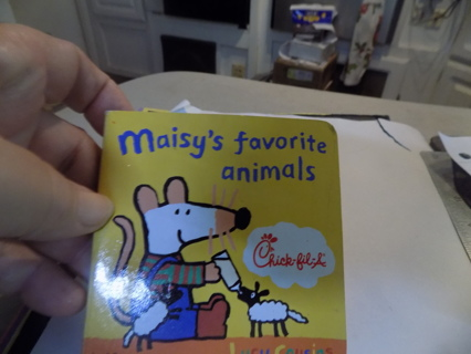 Maisy's Mouse 's Favorite Animals Chick-fil-a toddler book