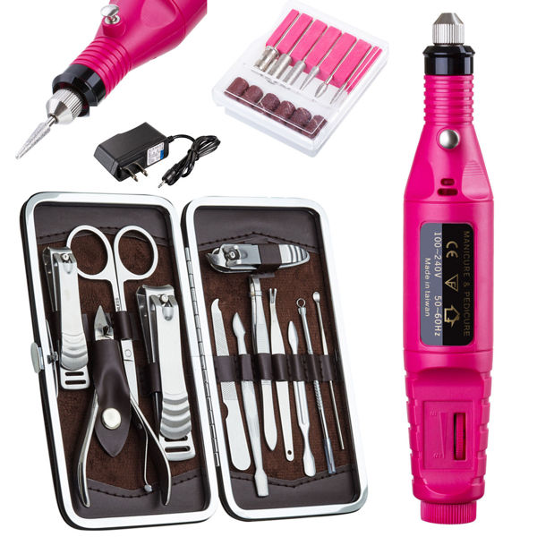 Nail Art Kit Boots: Free: New PROFESSIONAL ELECTRIC NAIL FILE DRILL Manicure