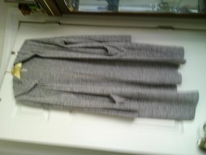 Ladies wrap-around light-weight robe, sm