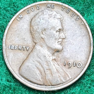 Bold Date! 1910 LINCOLN CENT