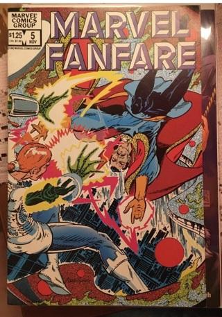 Marvel Comics Group: Marvel Fanfare, Nov 5,1982