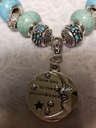Euro Necklace ♡♡ Love You To The Moon And Back ♡♡