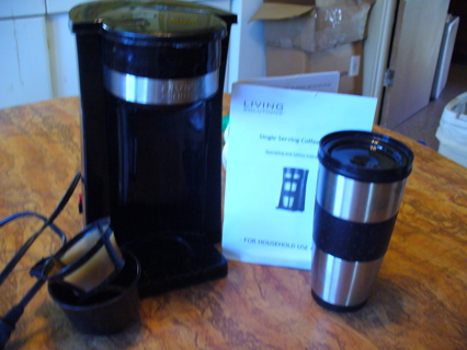 Free Living Solutions Single Serving Coffee Maker Kitchen