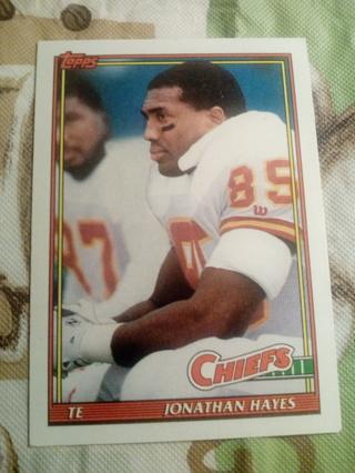 Topps #148 Jonathan Hayes