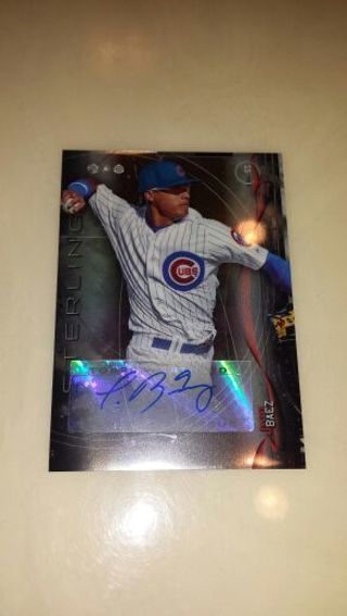 Free Javier Baez Bowman Sterling Autograph Chicago Cubs Baseball