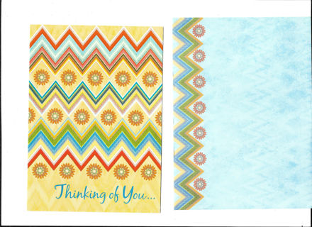 Thank You Card Unused With Envelope