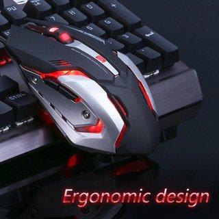 NEW Light Up Mouse LED Optical 4-DPI Adjustment Levels for Laptops or Desktop PC Mac FREE SHIPPING