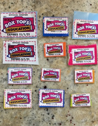 12 Box tops for education! Free Shipping!