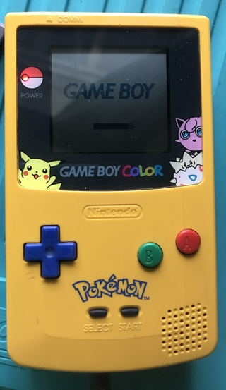 Hard to Find Vtg Ltd Edition Pokemon Yellow Game Boy Color Pikachu Edition
