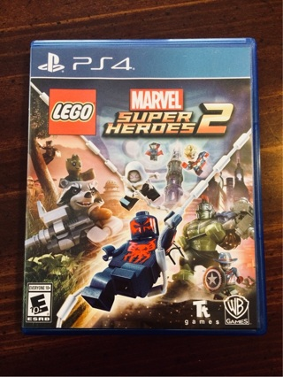 LIKE NEW PS4 Lego Marvel Super Heroes 2 (Playstation 4)