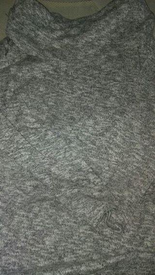 Cowl Neck Maternity Sweater
