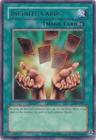 Yu-Gi-Oh! - Infinite Cards (DB1-EN230) - Dark Beginnings 1 - Unlimited Edition