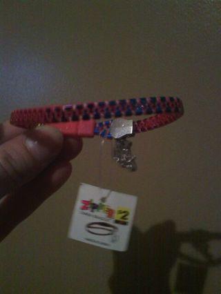 Zipper Charm Bracelet (Cross)