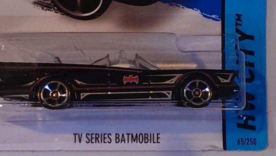 BATMAN 75th ANNIVERSARY TV SERIES BATMOBILE
