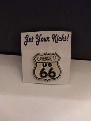 """""ROUTE 66 COLLECTOR'S PIN"""""