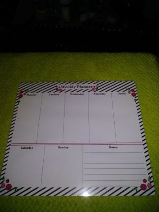 ❤✨❤✨❤️BRAND NEW WEEKLY PLANNER MOUSE PAD❤✨❤✨❤+GIN BONUSES UNICORN INK PEN & 323 PLANNER STICKERS!