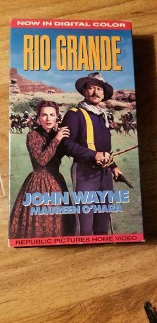 John Wayne VHS