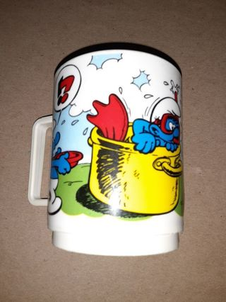 Smurfs cup