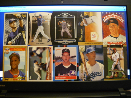 (10) Baseball Cards Stars, HOFers, Serial #'d or Inserts - LOT 12 - Read Details