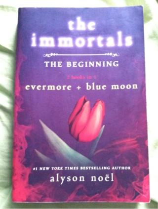 The Immortals • Alyson Noël • Evermore + Blue Moon! 2 Books In 1!!