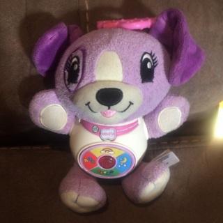 Leapfrog Violet clip on learning plush toy