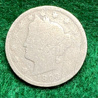1893 Liberty V Nickel