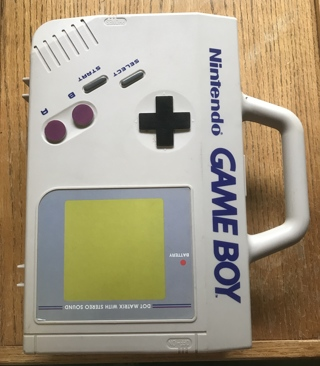 Vintage Nintendo Game Boy Case GB-80 that looks like the Gameboy plus 8 Games
