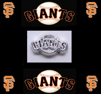 ⚾⚾⚾ San Fransico Giants ⚾⚾⚾ Living Locket Charm(s) ☆VERIFIED USERS ONLY PLEASE☆