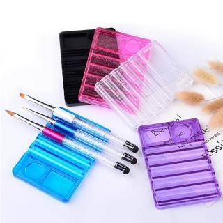 1pc Nail Art Brush Pen Holder Stand Base UV Gel Polish Nails Acrylic Brushes Display Rest Manicure