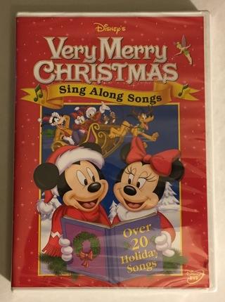 Disney Very Merry Christmas Sing Along Songs.Free Disney S Sing Along Songs Very Merry Christmas Dvd